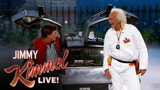 Download Marty McFly & Doc Brown Visit Jimmy Kimmel Live Video