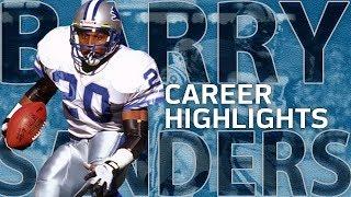 Download Barry Sanders UNREAL Career Highlights | NFL Legends Highlights Video