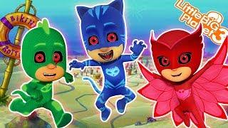 Download LittleBigplanet3 | PJ Masks Get SpongeBob Video