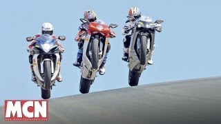 Download 800-class shootout   Road tests   Motorcyclenews Video