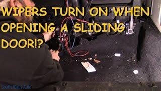 Download Dodge Grand Caravan: Wipers Turn On When You Open Door? Video
