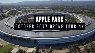 Download APPLE PARK October 2017 Drone Tour 4K Video
