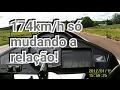 Download Cb300 dando 174km/h com apenas relação passo fino! Video