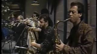 Download Tower of Power Horns on Late Night, November 11, 1987 Video