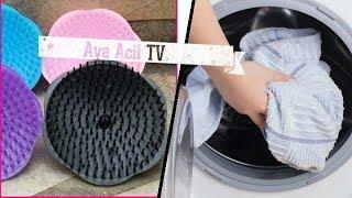 Download فكرة مبهرة بإستعمال مشط الشعر في غسل الملابس و النتيجة مبهرة من قناة Aya Acil TV Video