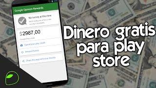 Download ¡CÓMO CONSEGUIR DINERO GRATIS PARA PLAY STORE! | HazAndroidFácil 2016 LEGAL Video