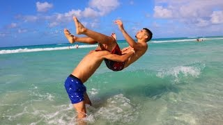 Download WWE MOVES AT THE BEACH 3 Video
