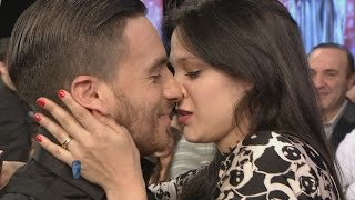 Download Barbie Vélez y Fede Bal se dieron un beso que dejó al estudio en llamas Video