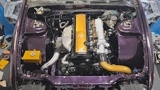 Download 1JZ Challenge - Engine Install & FIRST START! Video