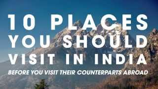 Download 10 Places To Visit In India Before You Go Abroad Video
