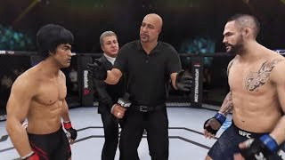 Download Bruce Lee vs. Santiago Ponzinibbio (EA Sports UFC 3) - CPU vs. CPU Video