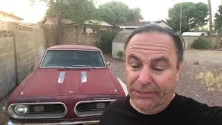 Download Starting my 1968 Barracuda Video