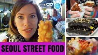 Download Korean Street Food in Seoul, Korea at Namdaemun Market (남대문시장) Video