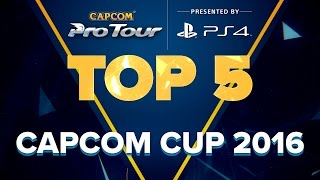 Download SFV: TOP 5 MOMENTS - CAPCOM CUP 2016 - CPT 2016 Video