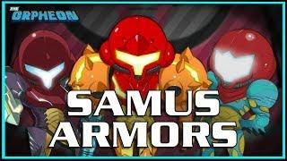 Download A look through Samus' armors Video