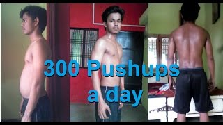 Download 300 pushups a day for 30 Days challenge [My Body Results] Video