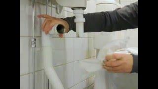 Download Anette visar: Rensa vattenlås i tvättställ Video