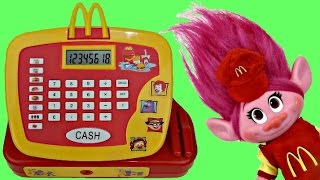 Download TROLLS Mcdonald Cash Register, Poppy Cashier, Toy Surprises, Happy Meal, Branch / TUYC Video