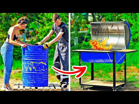 DIY Grill For BBQ || 24 COOL CRAFTS TO MAKE