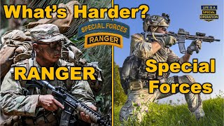 Download What's Harder - Ranger School or the Special Forces Qualification Course? Video