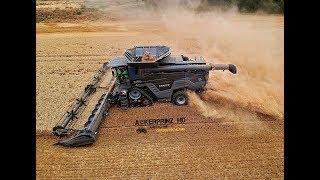 Download FENDT IDEAL 9T - Black Beast Combine in Germany! Video