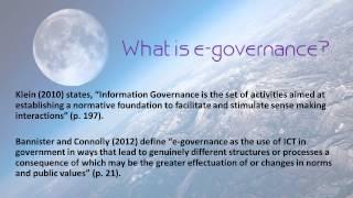 Download E-governance for E-government Video