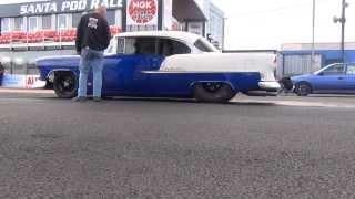Download Marc Lamudes 55 Chevy 8.24@169.81 MPH Video
