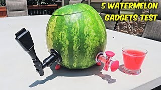 Download 5 Watermelon Gadgets put to the Test Video