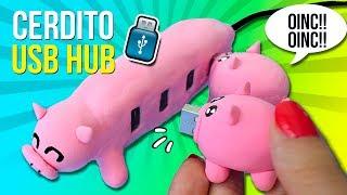 Download 🐷 ¡¡PENDRIVE de CERDITOS!! 🐷 Mamá cerdito y sus bebés 🐽 DIY USB Flash Drive Video