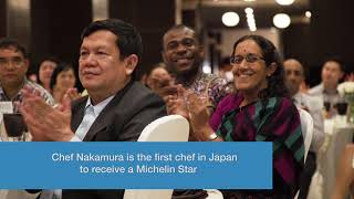 Download Michelin Star chef from Japan advocates for more nutritious foods while avoiding food waste-EN Video