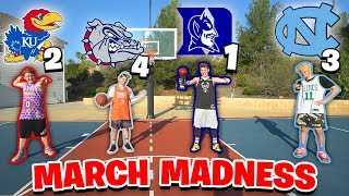 Download EPIC MARCH MADNESS BASKETBALL CHALLENGES! Video