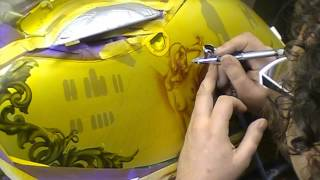 Download Atelier Meijer - Motorcycle sidecase airbrush Video