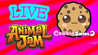 Download Play Animal Jam LIVE with Cookieswirlc Saturday June 6th - Game Play 2 PM Video