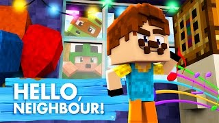 Download Minecraft Baby Hello Neighbour - CRIMINALS IN THE NEIGHBOURS HOUSE!? Video