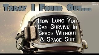 Download How Long You Could Survive in Space Without a Space Suit Video