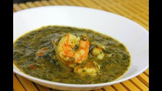 Download Amazing Shrimp Callaloo (Spinach Soup) #TastyTuesdays | CaribbeanPot Video