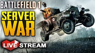 Download Battlefield 1: MASSIVE Custom Server WAR #2   Gameplay Live Stream Video