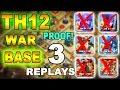 Download 'New Amazing' TH12 WAR BASE 2018 With 3 Replays Anti Bowler Anti 2 Star Anti Miner Anti Queen Walk Video