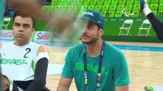 Download Wheelchair Rugby | France vs Brazil | Playoffs | Rio 2016 Paralympic Games Video