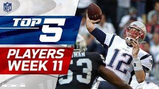 Download Top 5 Player Performances Week 11 | NFL Highlights Video