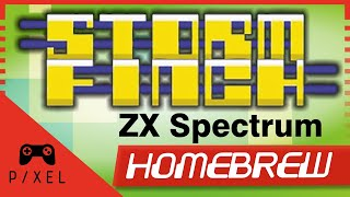 Download STORMFINCH [2015, ZX Spectrum Homebrew] Review | It's a Pixel THING - Ep. 51 Video