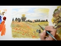 Download Painting Monet's Poppy Field - Best Lesson For Beginners Video