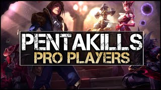 Download Pentakill Montage - Best Pro Pentakills (League of Legends) Video