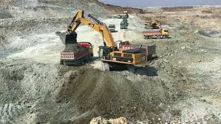 Download Cat 385CL Excavator Loading Trucks - Sotiriadis Brothers Video