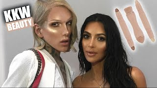 Download KIM KARDASHIAN: KKW CONTOUR + HIGHLIGHT KIT REVIEW | Jeffree Star Video