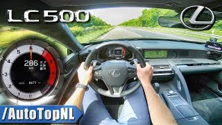 Download Lexus LC 500 | 477HP 5.0 V8 | 286km/h AUTOBAHN POV TOP SPEED by AutoTopNL Video