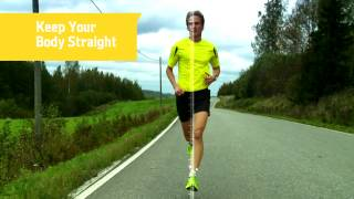 Download Proper Running Technique Knee and Quad Position Video