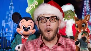Download Christmas in Disney World, Universal Orlando, SeaWorld & More Video