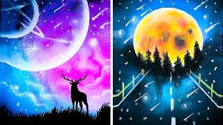 Download 16 Simple Yet Amazing Drawing Tricks || Tutorial Drawing Video