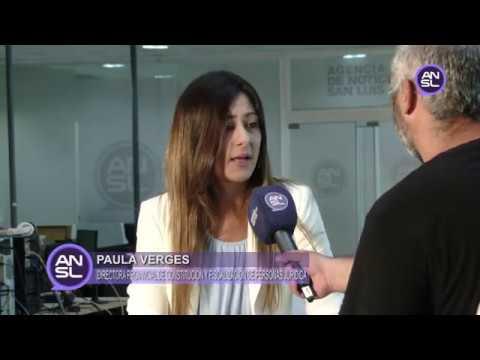 Paula Verges - Dirección Provincial de Constitución y Fiscalización de Personas Jurídica